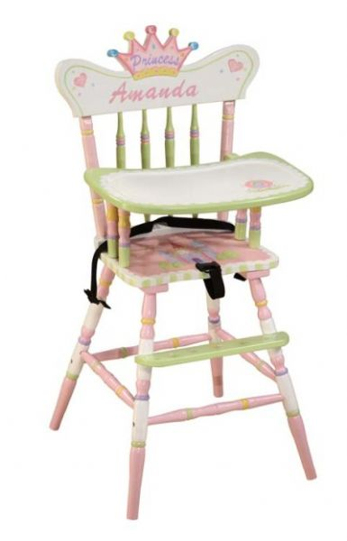 Children's Teamson Princess & Frog High Chair